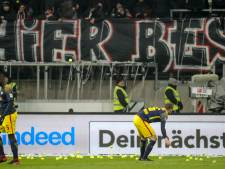 Fans Eintracht protesteren tegen duel op maandag