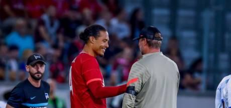 Virgil van Dijk est de retour: le défenseur néerlandais a rejoué avec Liverpool après neuf mois d'absence