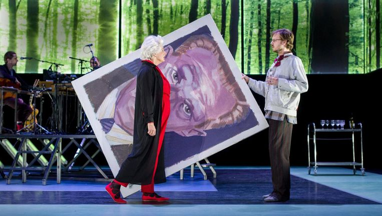 Distel, een van de huidige voorstellingen van Orkater Beeld eye-Depict/Ben van Duin