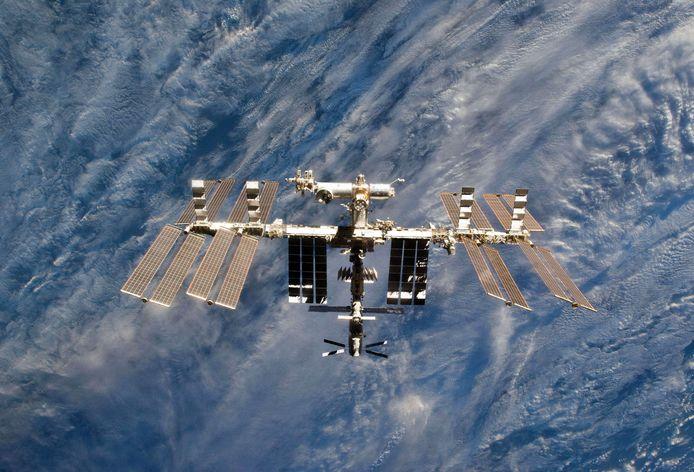 Het ISS.