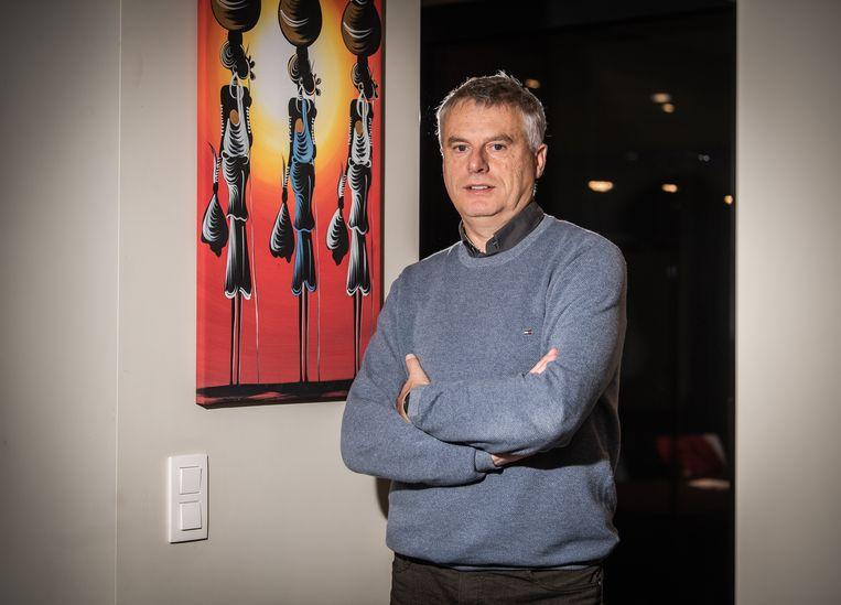 Viroloog Johan Neyts. Beeld Joel Hoylaerts/Photo News