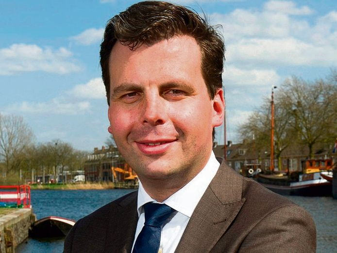 Wethouder Berend de Vries.
