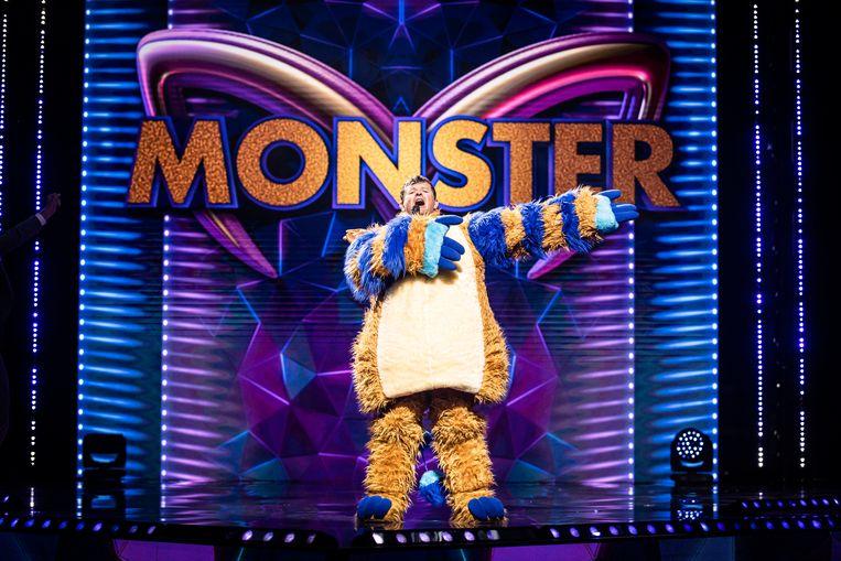 Bart Tommelein in 'The Masked Singer'. Beeld VTM