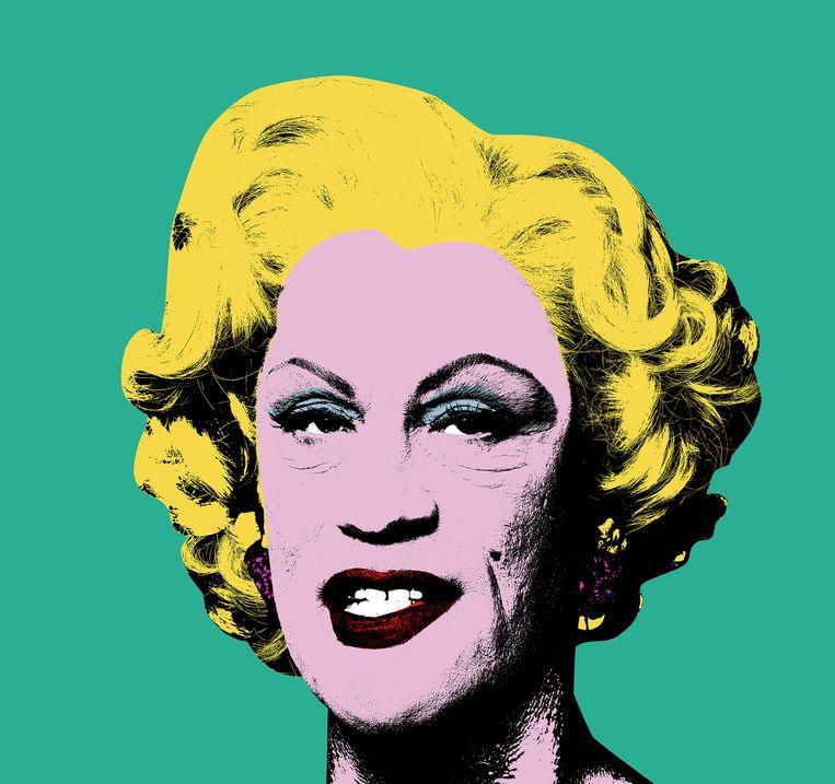 Green Marilyn van Andy Warhol Beeld Sandro Miller