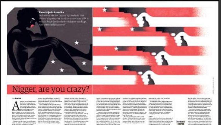 Het artikel van NRC Handelsblad Beeld