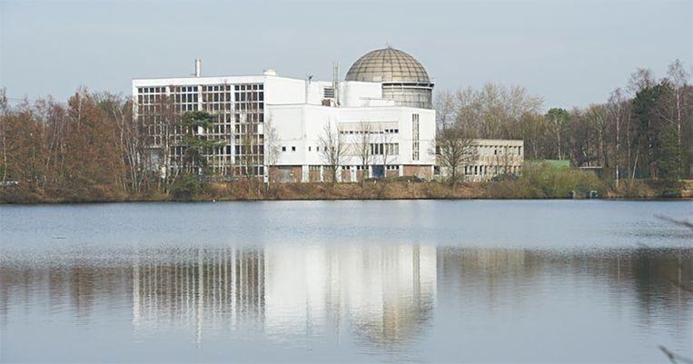 Het studiecentrum voor kernenergie (SKC) in Mol.