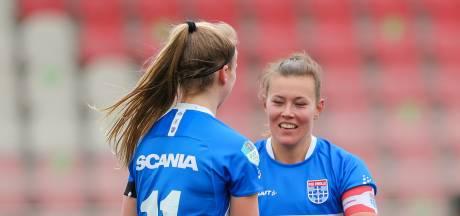 PEC Zwolle Vrouwen verspeelt de winst tegen Excelsior door vreemde stuiterbal