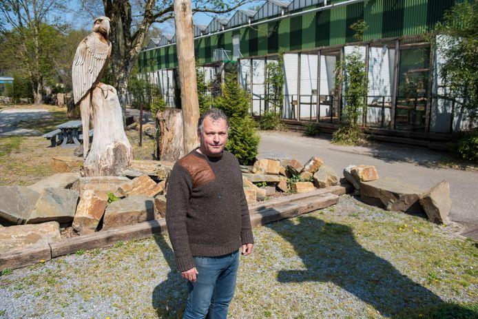 """Richard Loomans in zijn Zoo Veldhoven: ,,De dieren mogen niet de dupe worden."""""""