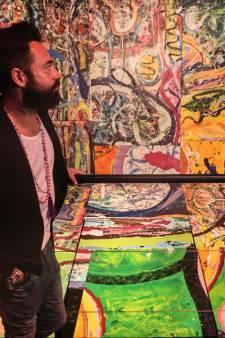 Grootste schilderij ter wereld in Dubai geveild voor 52 miljoen euro