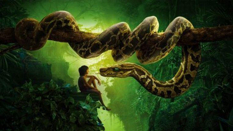 Onder meer Bill Murray en Idris Elba schitteren in deze remake van The Jungle Book. Beeld rv