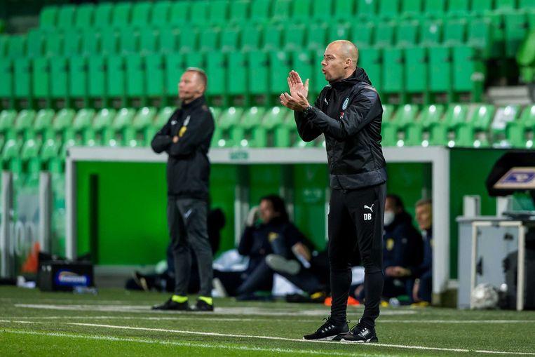 FC Groningen-trainer Danny Buijs. Beeld ANP