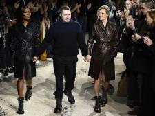 Double surprise à la fin du défilé Vuitton