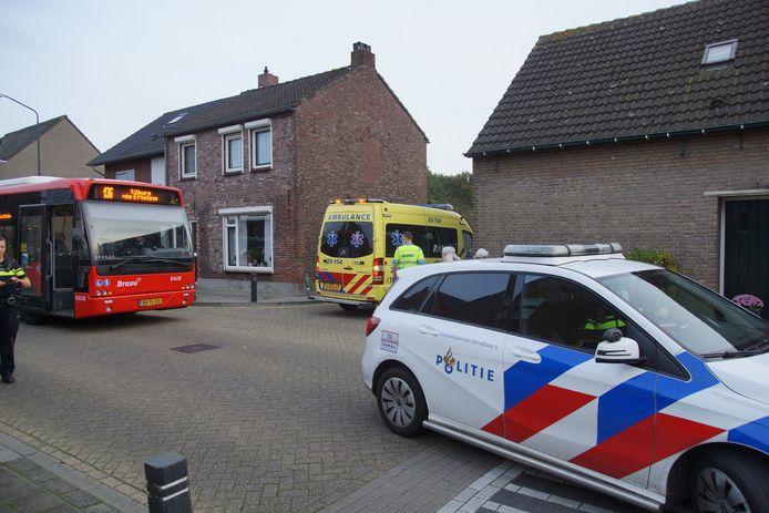 Fietsster gewond na botsing met lijnbus.