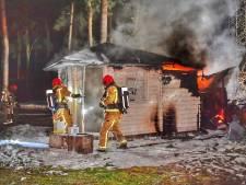 Opnieuw brand op camping Zwarte Bergen in Luyksgestel