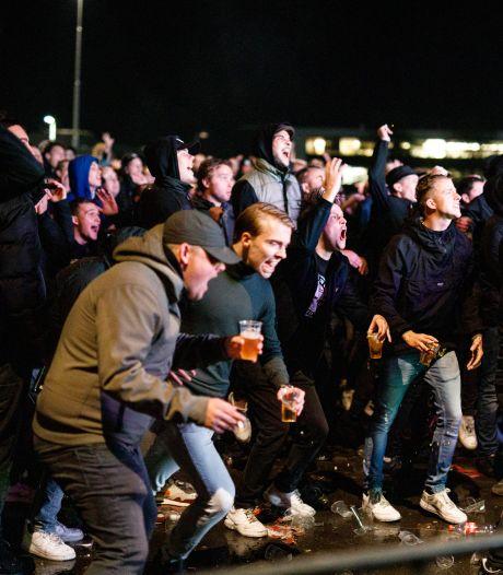 Deze regels werden overtreden tijdens het Willem II- supportersfeest, bekijk hier de vergunning