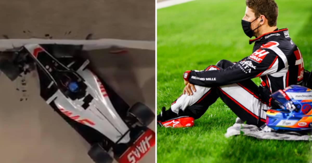 """Une impressionnante animation 3D montre comment Romain Grosjean a survécu à son crash: """"Et dire que j'étais contre le halo..."""" - 7sur7"""