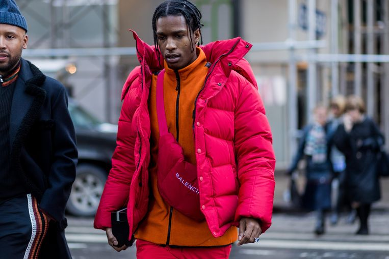ASAP Rocky.  Beeld Getty Images