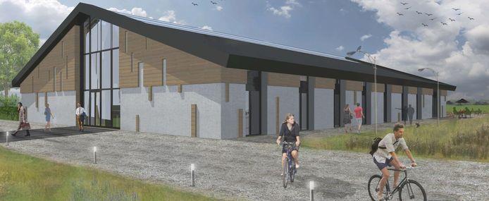 Impressie van de Markhoeve in Strijbeek, initiatief van de Vereniging Markdal.