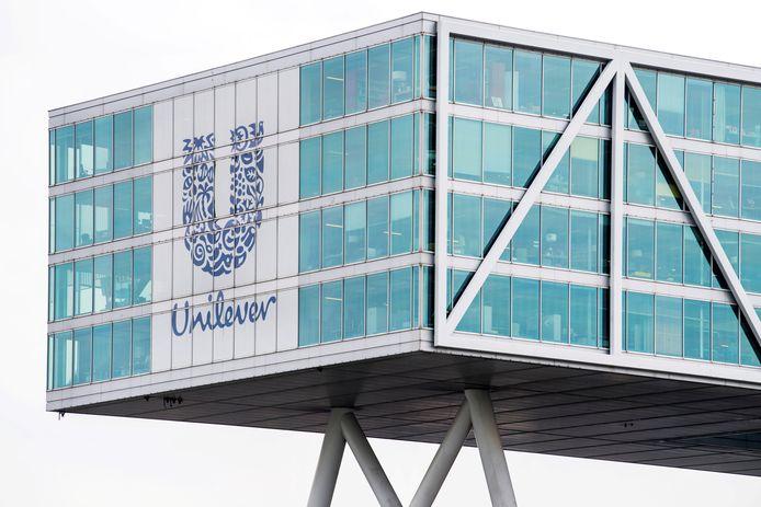 Het Unilever-kantoor in Rotterdam.