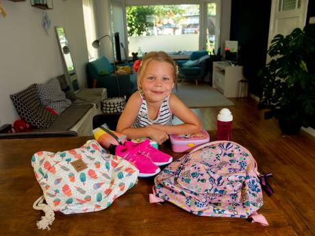 De eerste schooldag, een drieluik