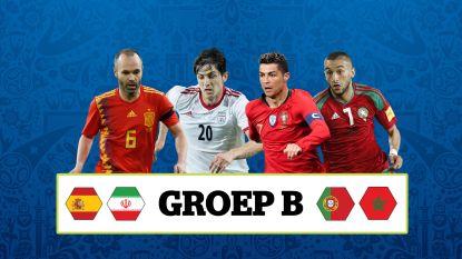 De ongewenste Spanjaard, de 'Golden Boy' die er niet bij is en de Marokkaan die met Oranje lacht: wat u moet weten over de vier landen in groep B