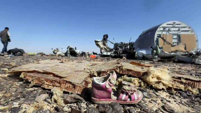 """""""Gegevens zwarte doos neergestort vliegtuig Sinaï wijzen niet op ongeluk"""""""