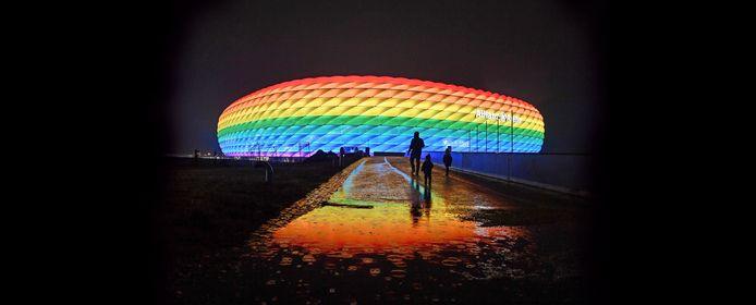 Zo had de Allianz Arena er vanavond moeten uitzien.