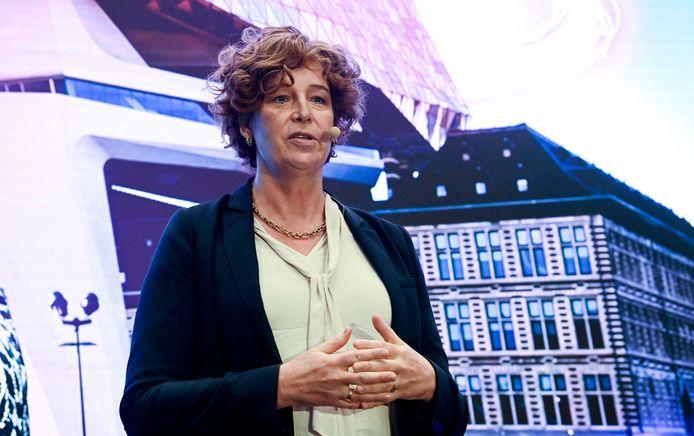 Petra De Sutter, la ministre fédérale des Télécommunications.