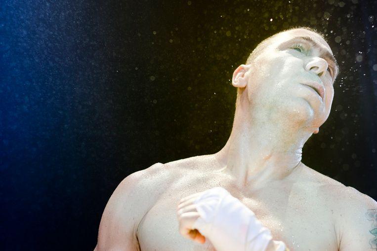 Hans Kesting als Otello. Beeld Jan Versweyveld