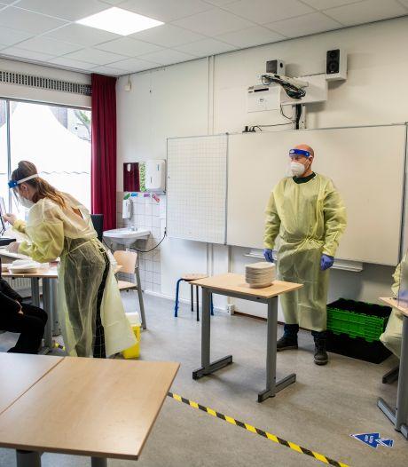 Slob verlengt proef met sneltesten op middelbare scholen: te weinig info door lockdown