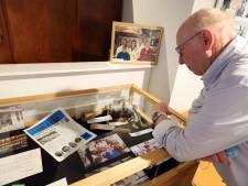 Foto van enorm slachtvarken met kinderen in minimuseum: 'Als kind moest je goed spek eten'