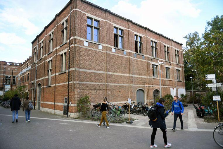 De gerenoveerde rechtervleugel van Leercentrum Agora in Leuven.