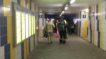 Rook en brandgeur nadat remmen van trein blokkeren
