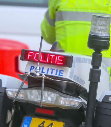 Motorrijder op A1 bij Deventer van de weg gehaald: 160 km/u langs zone werkzaamheden