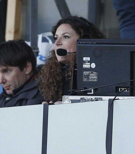 Een vrouw als voetbalcommentator: 'Fantastisch, maar het zou geen nieuws moeten zijn'