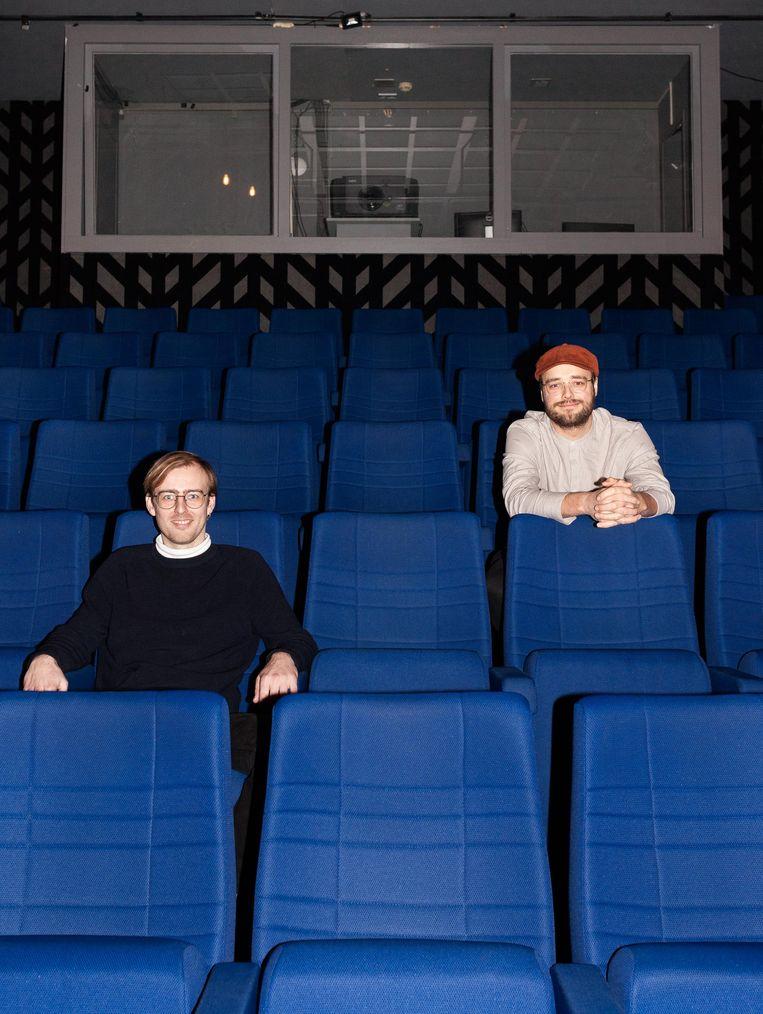 Daan de Wit en Tobias de Jong van Lab111. Beeld Nina Schollaardt