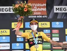 Kuss bezorgt Jumbo-Visma derde etappezege in Dauphiné, eindwinst voor Martínez