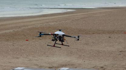 Kind vermist op strand? Drone gaat mee op zoek