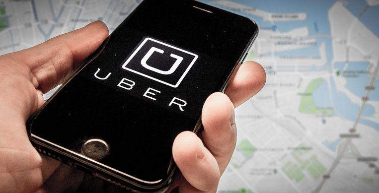 Uber ontslaat 225 kantoormedewerkers in Amsterdam, vakbond FNV is niet blij met de manier waarop.  Beeld ANP XTRA