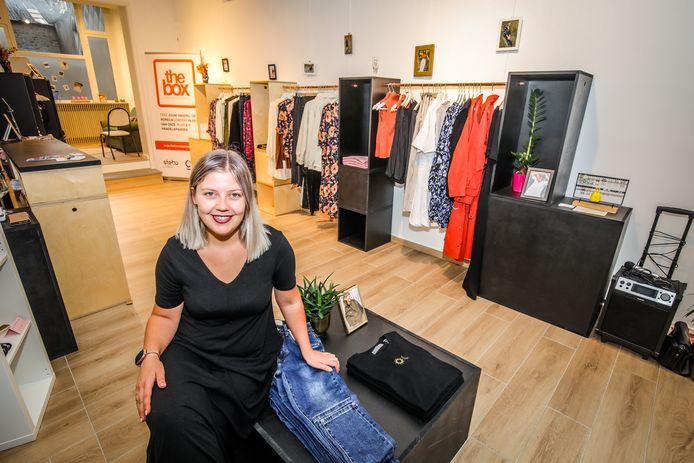De Bliede van Indira Verwichte is de eerste winkel die in The Box in Oostende te gast is