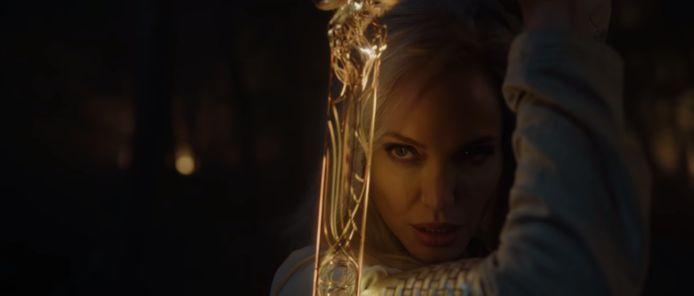 Angelina Jolie in 'The Eternals'.
