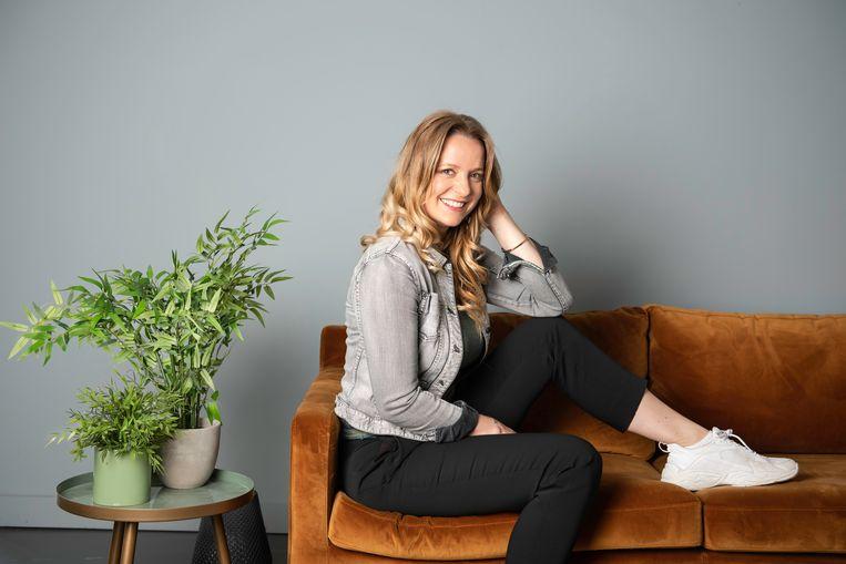 Elke Clijsters in 'De Bachelorette' Beeld SBS