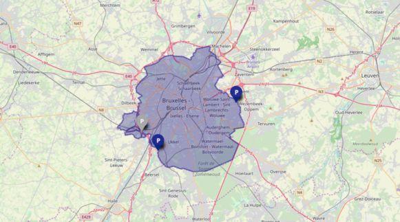 LEZ-zone van het Brussels Hoofdstedelijk Gewest