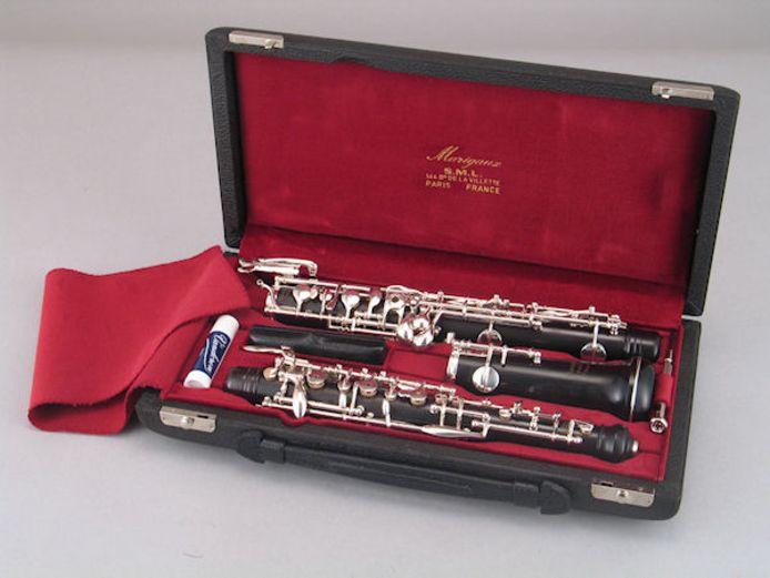 Caseys hobo. ,,Straks staat er vast een klarinet te koop op Marktplaats.