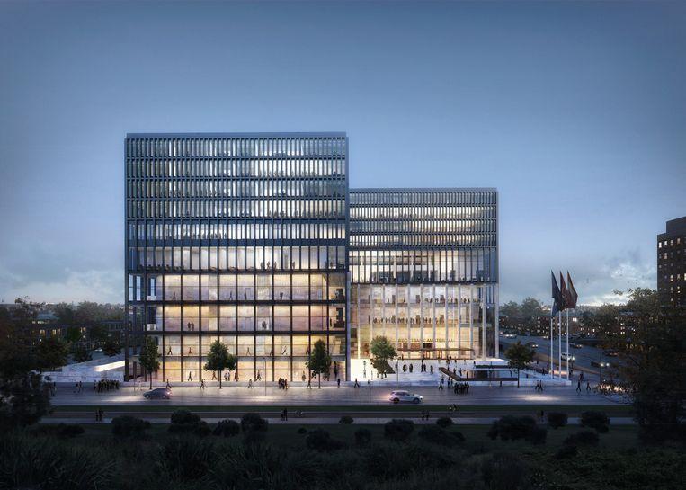 Een impressie van de nieuwbouw Beeld consortium NACH
