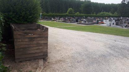 Sluikstort op begraafplaats in Vlierzele: dader gevat