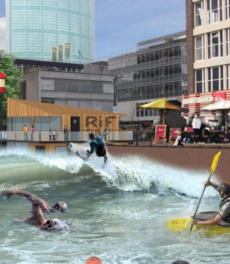 Surfersparadijs in hartje Rotterdam laat nog even op zich wachten: 'Als iets niet haalbaar is, moet je er gewoon mee nokken'