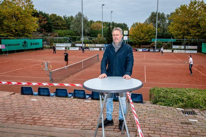 Martin van Delft, eigenaar van tennispark 't Hooghe Dorp.