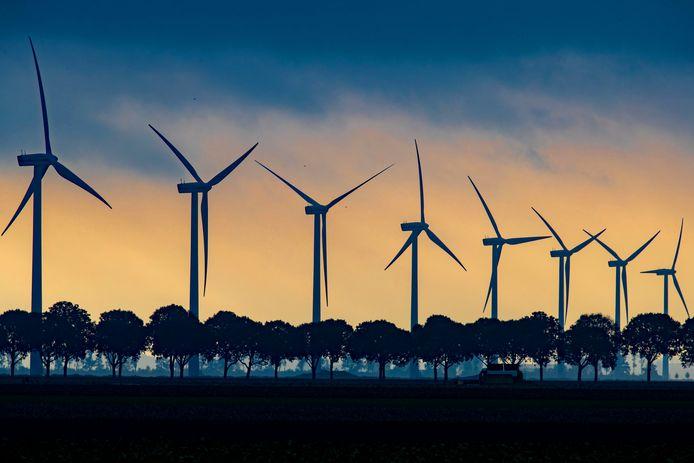 Windmolens komen er voorlopig niet in Bronckhorst. Foto ter illustratie.