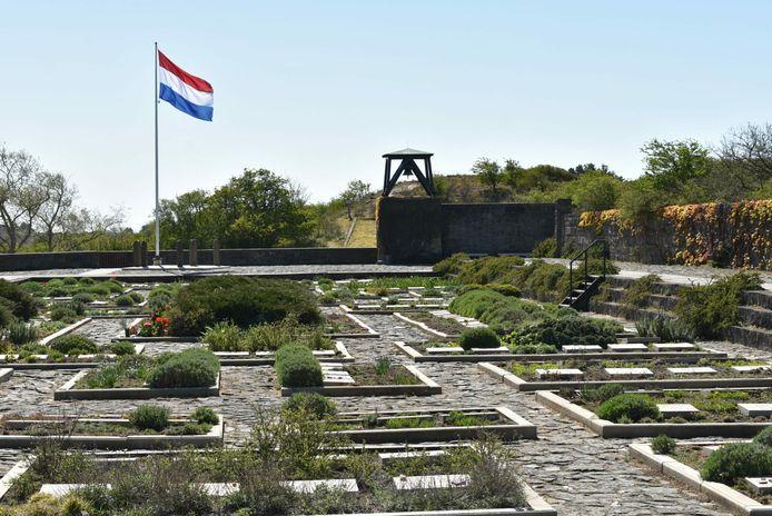 De klokkentoren op de Eerebegraafplaats (2020).